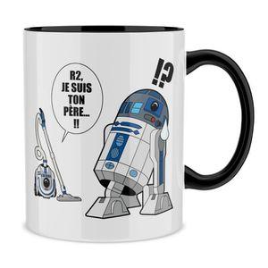 BOL Mug Noir Star Wars parodique R2-D2 le Droïd d'Anak
