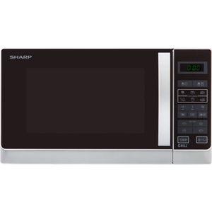 MICRO-ONDES SHARP R-742WW - Micro-ondes grill - Blanc - 25L -