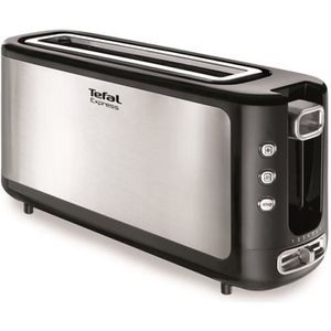 GRILLE-PAIN - TOASTER TEFAL TL365ETR Grille-pain Express - Inox