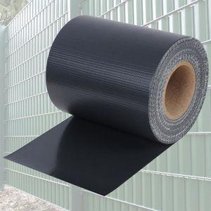 CLÔTURE - GRILLAGE WOLTU Couverture de clôture en PVC, Rouleau de Bri