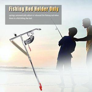 CANNE À PÊCHE Support de canne à pêche automatique Double Angle