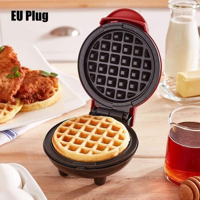 Mini machine à gaufres pour gaufres individuelles Hash Browns - Petit déjeuner - collations