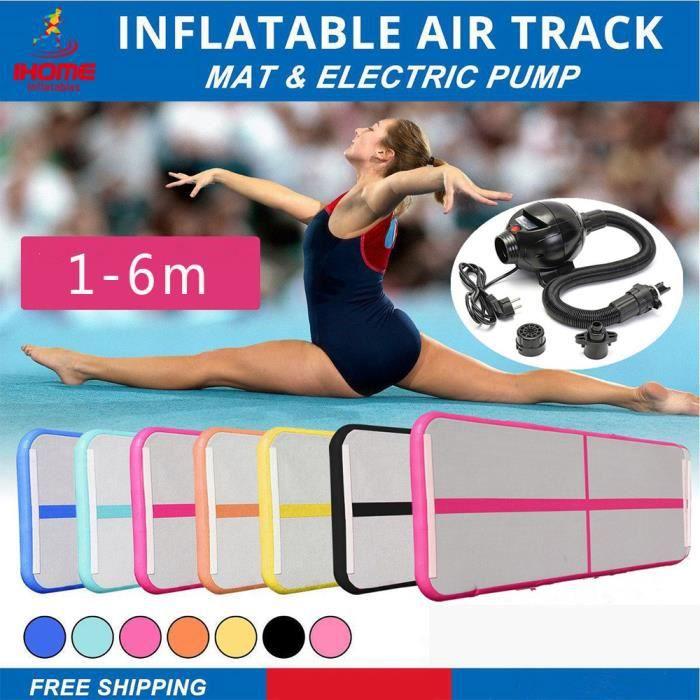 Air Track gymnastique dégringolade gymnastique plancher gonflable gymnastique tapis air gymnase sol pour gymnastique entraînement 3m