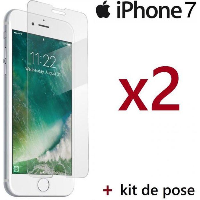 protege ecran verre trempe pour iphone 7