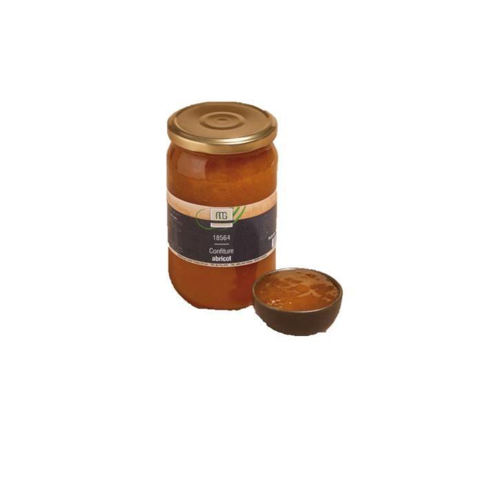 Confiture extra abricot - Maison des Gourmets - pot 850g