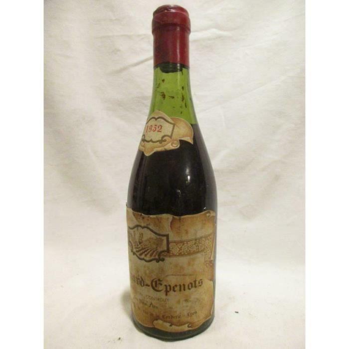 37,5 cl pommard goutagny épenots rouge 1952 - bourgogne