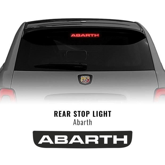 Autocollant Sticker Couverture Troisième Feu d'Arret, Abarth