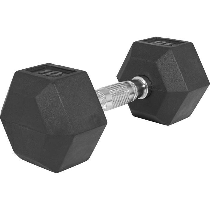 Haltères hexagonaux Pro De 2 à 50 KG