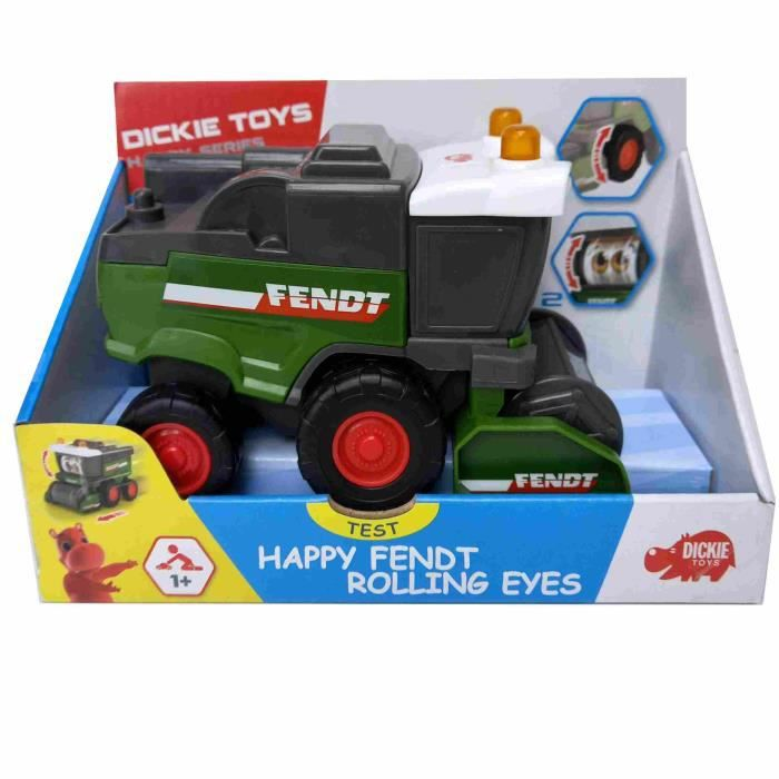 DICKIE TOYS HAPPY SERIES faucheuse fendt rolling eyess