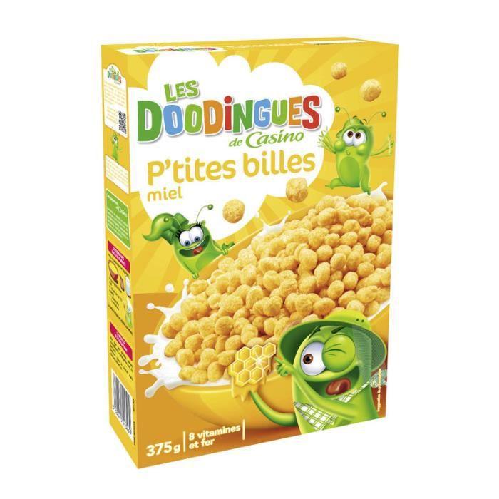 Créales Enfants p'tites Billes Boule de maïs - Miel - 375g