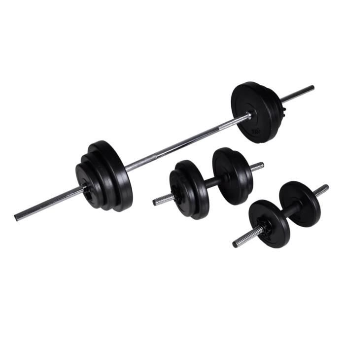 VAG- Poids libres Haltère 2 pcs 30,5 kg -9399423020469