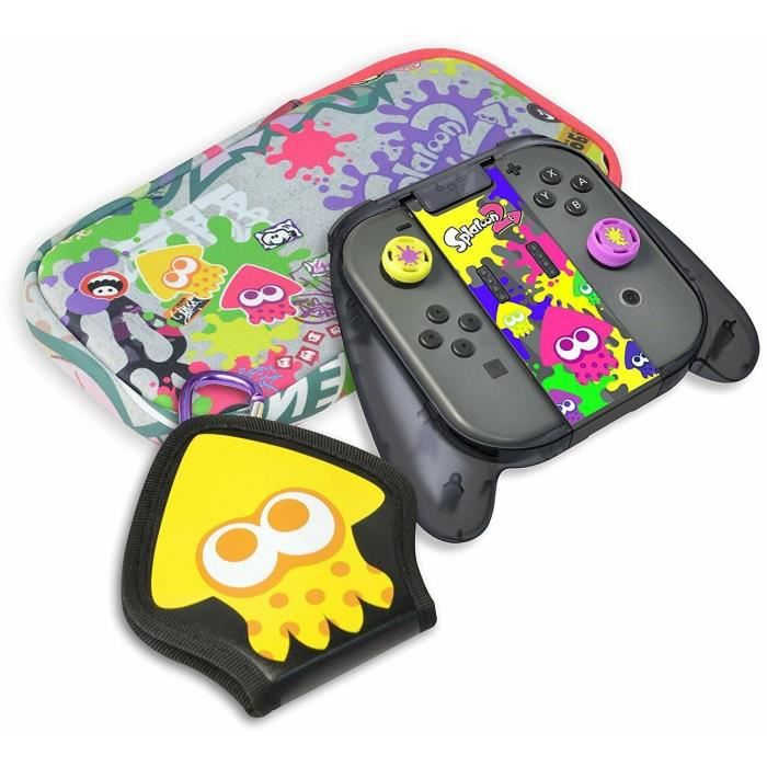 Hori Pack Deluxe Splatoon 2 Pour Nintendo Switch - Licence Officielle Nintendo