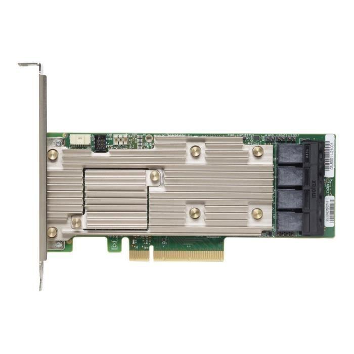 Lenovo Contrôleur de stockage Thinksystem 930 16i 16 Canal Sata / Sas 12Gb/S 12 Gbit / s