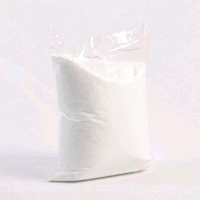 Recharge de microbilles 10 litres: billes très fines, silencieuses et résistantes d 1 millimètre de diamètre