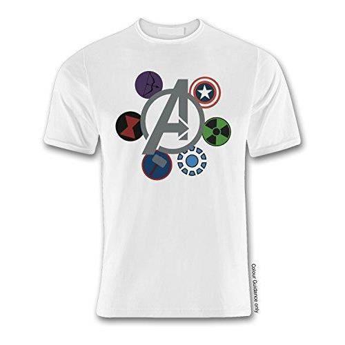 Auto 360 Super Hero 04 Avengers Tribute White T Shirt (XXLarge)