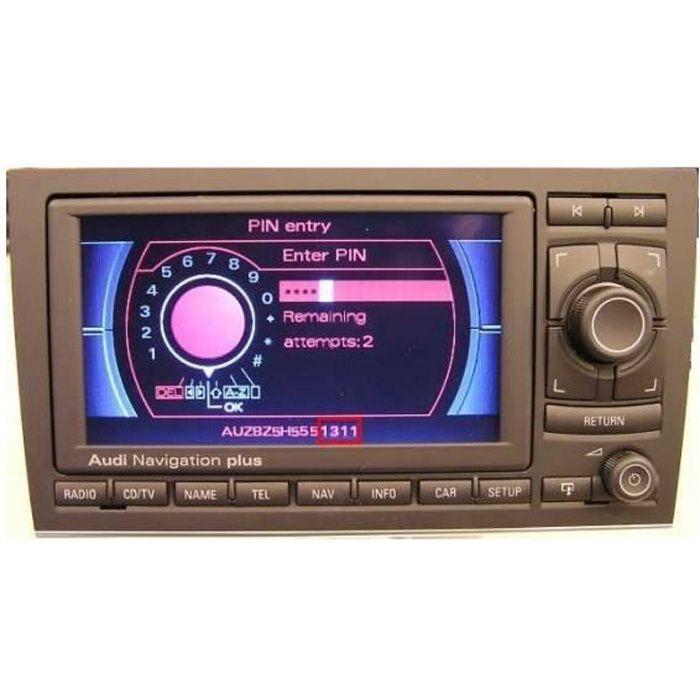 Cd Recuperation Pin Rns-E Unlock Code Pin Gps Rns E Audi A3 S3 A4 A6 Tt Skyexpert