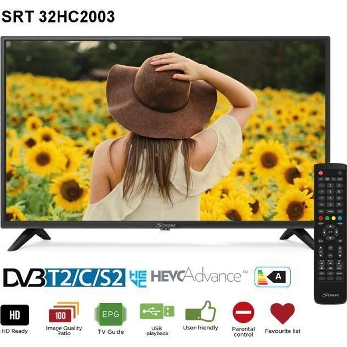 TV STRONG LED 32'' HD SRT32HC2003