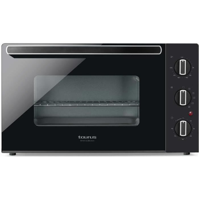 taurus - four grill 60l 2000w noir - 971346000