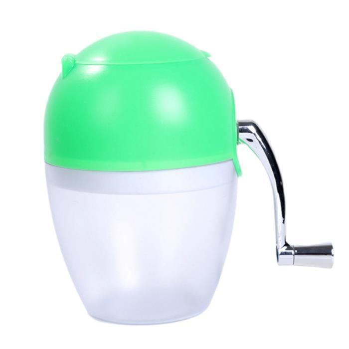 Moulin à glace portable durable manuel 1PC pour la maison MACHINE A GLACONS