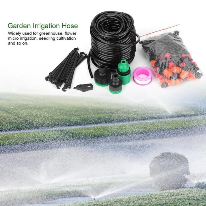 Tuyau d'irrigation d'arrosage de jardin pour plantes 25m
