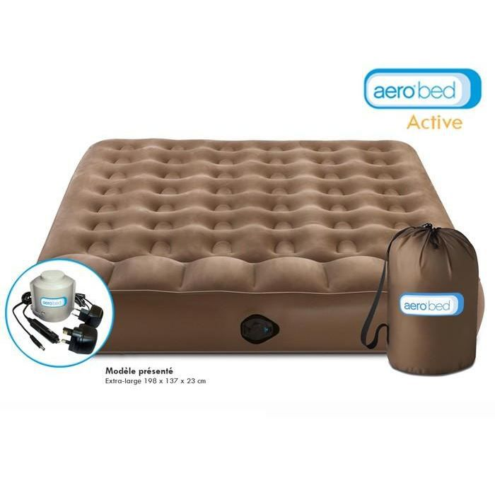 Matelas gonflable ACTIVE DOUBLE AEROBED Achat / Vente lit gonflable