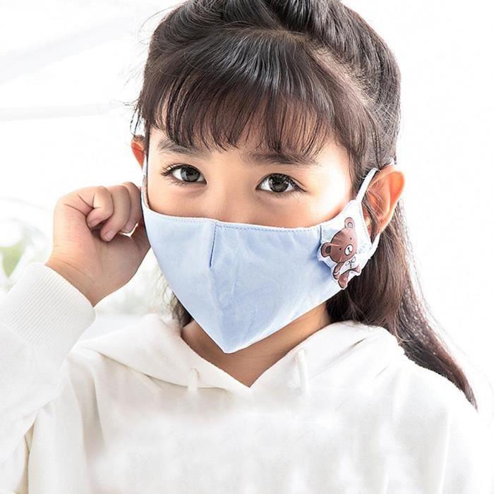 masque anti poussiere pour enfants