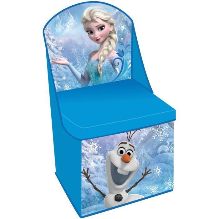 chaise de rangement la reine des neiges frozen achat. Black Bedroom Furniture Sets. Home Design Ideas