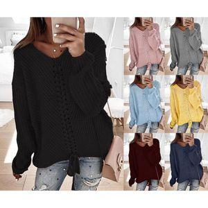 Minetom Sweat-Shirt Femme Col B/énitier Manche Longue Poche Cordon de Serrage Pullover Manteau Hoodie Tunique Sport Jumper Chemise Blouse Tops