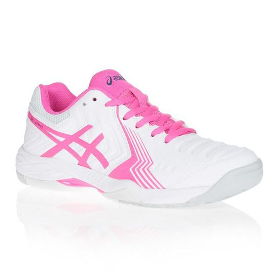 chaussure asics femme blanche
