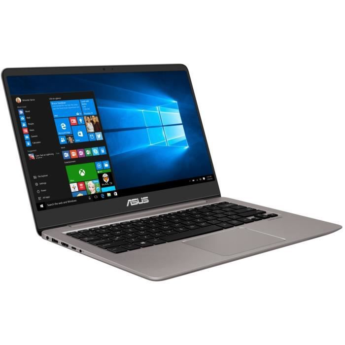 asus pc portable zenbook ux410uq gv146t 14 16go ram. Black Bedroom Furniture Sets. Home Design Ideas