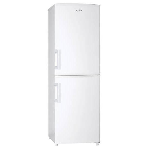 RÉFRIGÉRATEUR CLASSIQUE HAIER HBM-446W - Réfrigérateur congélateur bas - 1