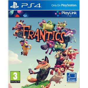 JEU PS4 Frantics - Jeu PS4 - Playlink