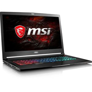 ORDINATEUR PORTABLE MSI PC Portable Gamer GS73VR 7RF-403XFR - 17'' FHD