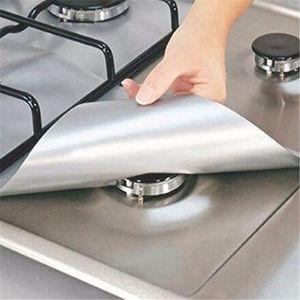 FEUILLE DE CUISSON  10pcs Plaque de cuisson à gaz universel Protection