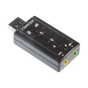 CARTE SON EXTERNE INECK® Carte son USB 2.0 - 7 canaux