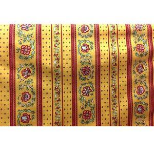 TISSU Tissu  au mètre coton  provençale vence jaune R li