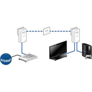COURANT PORTEUR - CPL devolo 9137 - Pack de 3 adaptateurs CPL (dLAN 500
