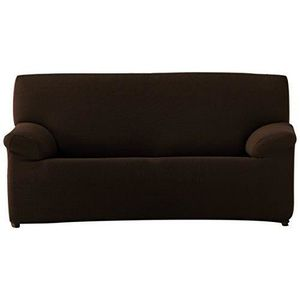 Relax Cardenal Textil Housse de canap/é Double Coque 4 Places Marron Gris