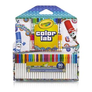 JEU DE COLORIAGE - DESSIN - POCHOIR CRAYOLA Color Lab Pack 33 Feutres