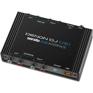 INTERFACE AUDIO - MIDI DENON DJ DS1 - Interface audio DVS 2 entrées / 2 s