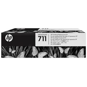 TÊTE D'IMPRESSION HP - 1 Tête d'impression 711 - Multicolor