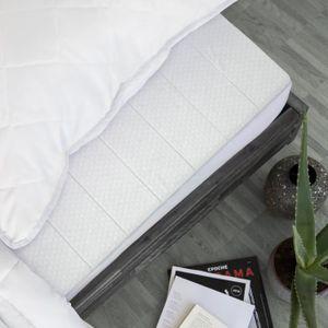 SUR-MATELAS Surmatelas 90 x 190 cm mousse confort house doublé