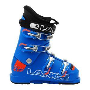 CHAUSSURES DE SKI Chaussure de Ski Junior Lange RSJ 60 RTLbleu/orang