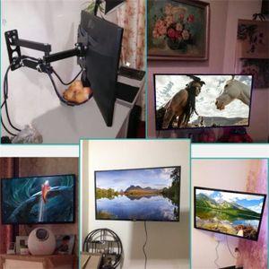 FIXATION - SUPPORT TV tv support mural durable tourner télescopique tv s