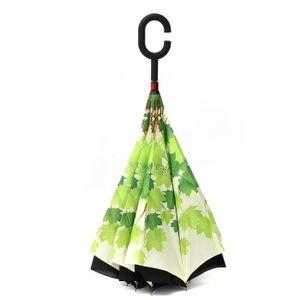 PARAPLUIE C Parapluie Automatique Pliant Inversé Imprimé Ant