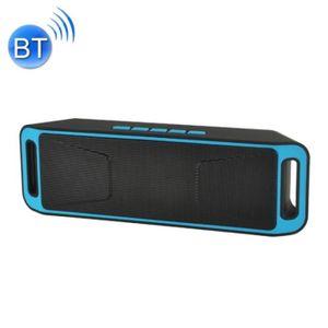 ENCEINTE NOMADE Enceinte Bluetooth d'intérieur bleu Haut-parleur d
