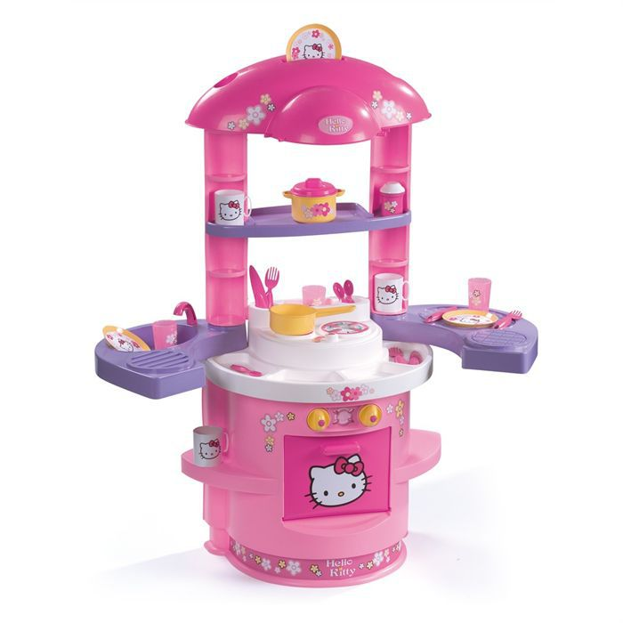 cuisine enfant hello kitty smoby 20 accessoires achat vente dinette cuisine cdiscount. Black Bedroom Furniture Sets. Home Design Ideas