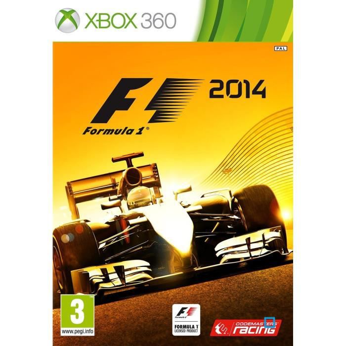 f1 2014 jeu xbox 360 achat vente jeux xbox 360 f1 2014 jeu xbox 360 cdiscount. Black Bedroom Furniture Sets. Home Design Ideas
