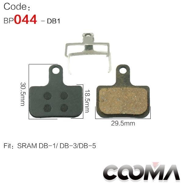 Pièce Détachée,4 paires 8 pièces plaquettes de frein de vélo pour SRAM Avid SHIMANO Magura Hayes formule Scooter, - Type For DB1