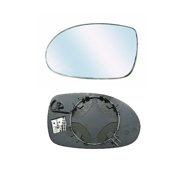 Miroir Glace asphérique Dégivrant Rétroviseur gauche pour CITROEN C5 de 2001 à 2004